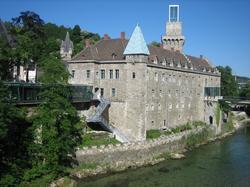 The Neo-Gothic Rothschildschloss ( de ), Waidhofen