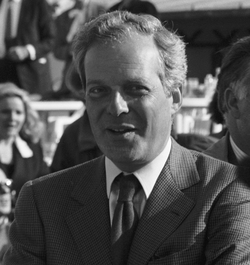 Baron David René de Rothschild, current French chairman of N M Rothschild & Sons and formerly of De Beers