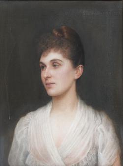 Bertha-Clara von Rothschild (Princess of Wagram) (Ellis William Roberts, 1890)