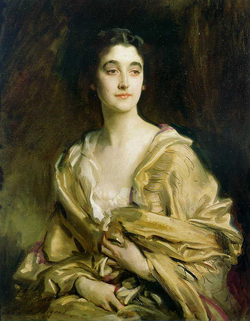 Sybil Cholmondeley                                , Marchioness of Cholmondeley (1894–1989), painted by                                 John Singer Sargent