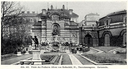 Palace Nathaniel Rothschild, Vienna