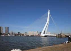 Erasmus Bridge                                in 2011