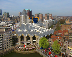 The                                 Cube Houses                                in 2011