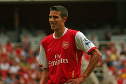 Robin van Persie                                , who now plays for                                 Fenerbahçe                                , began his career with                                 SBV Excelsior                                .