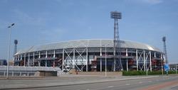 De Kuip                                ,                                 Feyenoord                                home stadium.