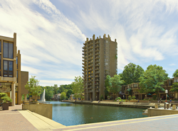 Lake Anne Plaza in Reston