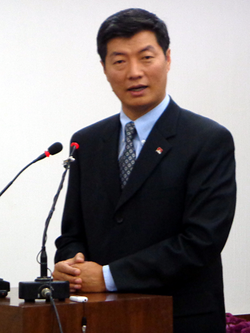 Dr. Lobsang Sangay, Tibetan Prime Minister in Exile