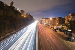 Pacific Coast Highway                                running through Santa Monica