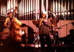 As Coltrane's interest in jazz became increasingly experimental, he added Pharoah Sanders to his ensemble.