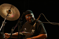 Percussionist Rashied Ali helped to augment Coltrane's sound in the last years of his life.