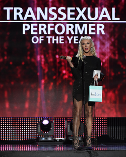 Winning Transexual Performer of the Year