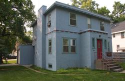 Zimmerman family home in Hibbing, Minnesota