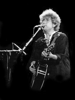 Dylan in                                 Barcelona, Spain                                , 1984