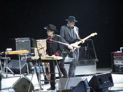 Bob Dylan performs at Air Canada Centre, Toronto, November 7, 2006