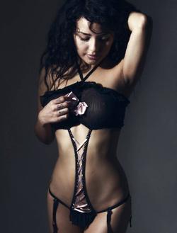 Modelling a bikini