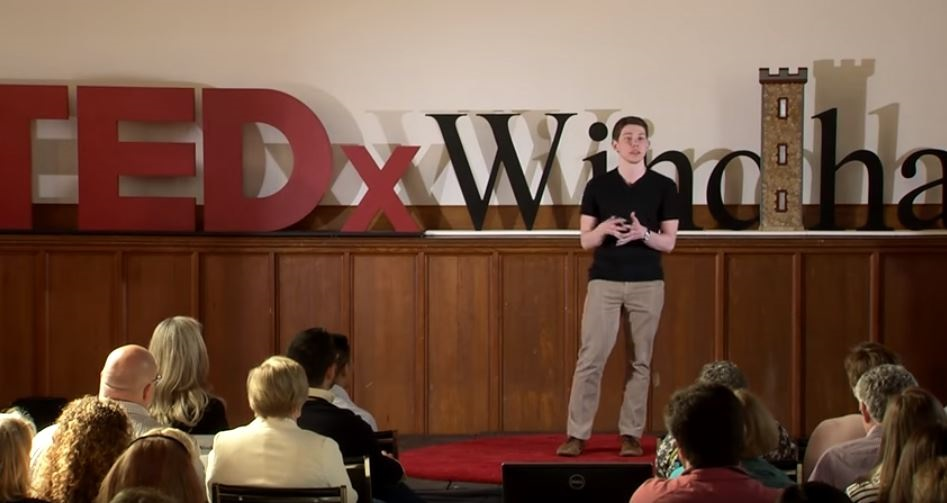 A TEDx talk in Windham, New Hampshire, in May 2015