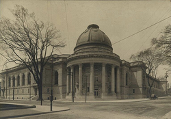 Woolsey Hall                                                 in c. 1905