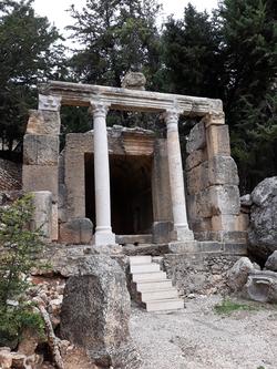 Nymphaeum (front view)  (credit Hagop Kazazian)