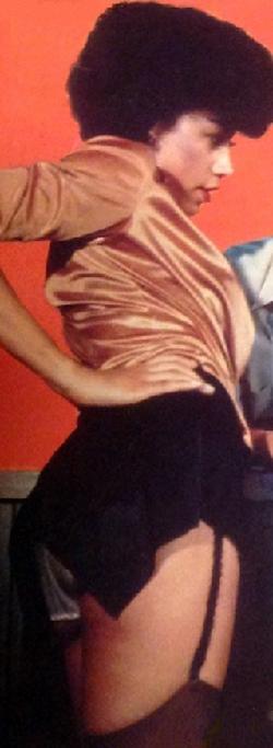 Profile/body length photo of Linda circa 1984