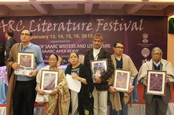 Recipients of SAARC Literary Award 2015