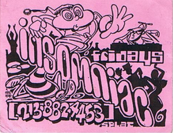 Insomniac flyer from the early 90's