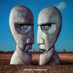 The album artwork for                                                   The Division Bell                                                 , designed by                                 Storm Thorgerson                                , was intended to represent the absence of Barrett and Waters from the band.