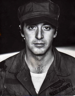 Al Pacino                                was chosen to play                                 Michael Corleone                                                This 1971 screenshot from another film
