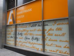 Anne Frank Center in New York
