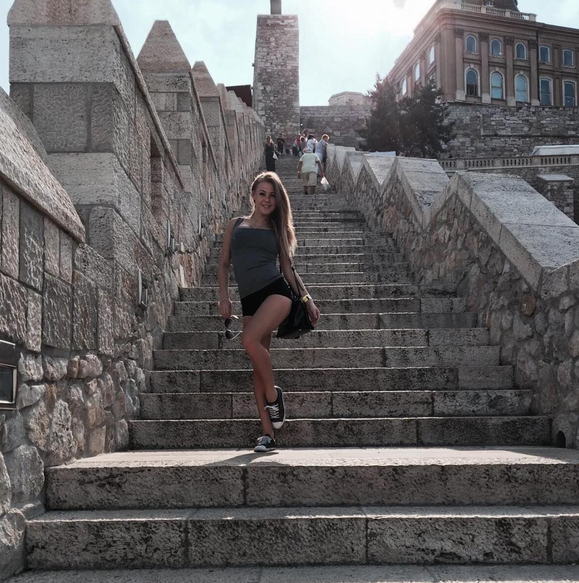 Walking on steps