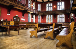 The Oxford Union's debating chamber