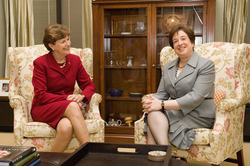 Elena Kagan with Jeanne Shaheen