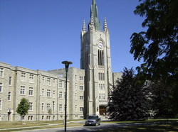 Middlesex College, built in the early 1960s