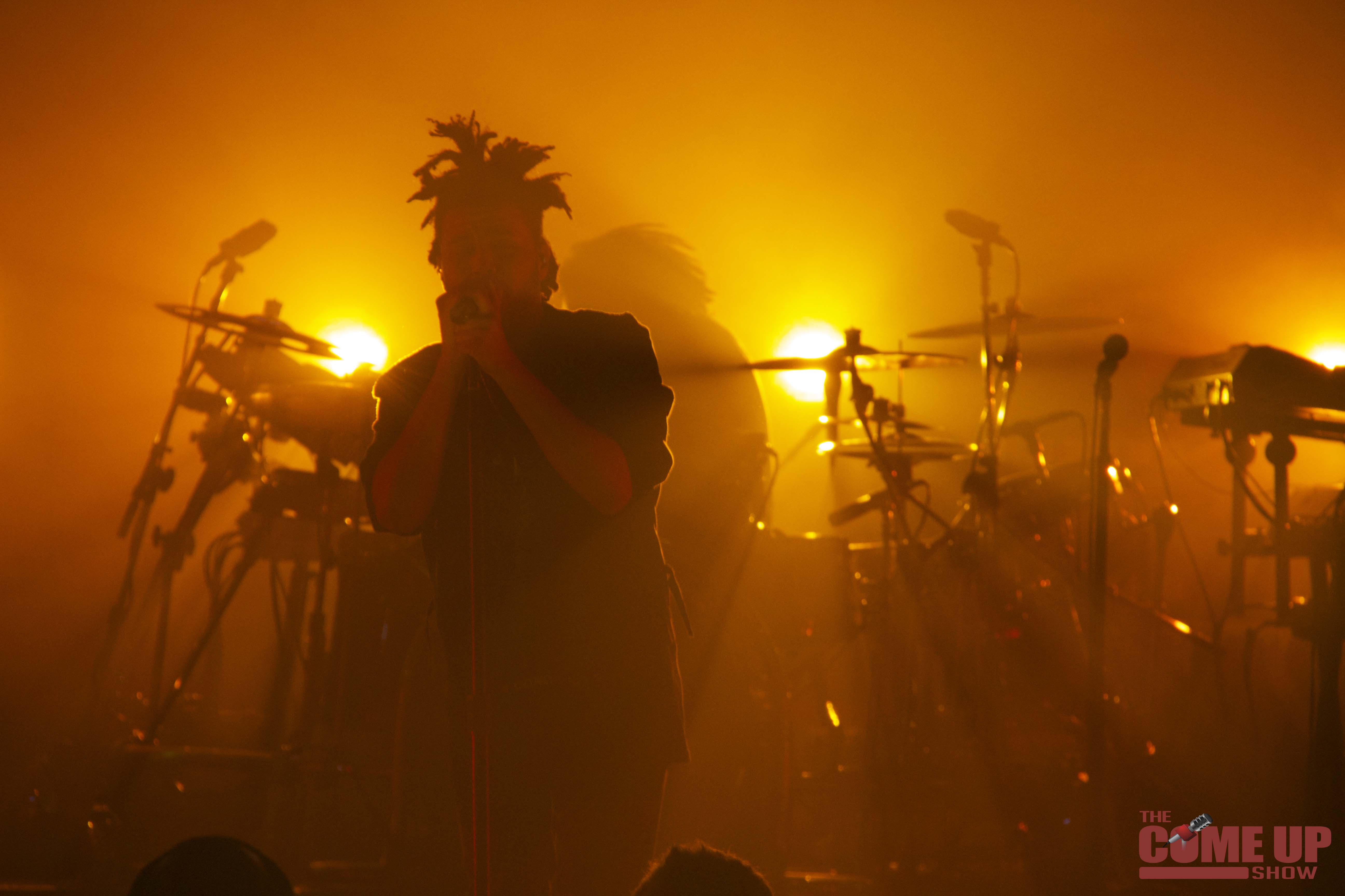 The Weeknd performing at Massey Hall on 17 October 2013