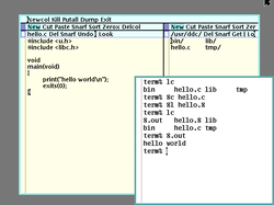 Plan 9 from Bell Labs                                extends Unix design principles, and was developed as a successor to Unix