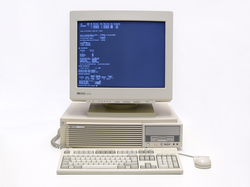 HP9000                                                 workstation                                running                                 HP-UX                                , a certified Unix operating system
