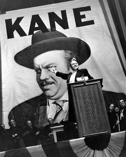 Favored to win election as governor, Kane makes a campaign speech at                                 Madison Square Garden