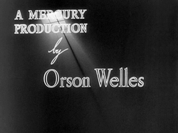 The                                 Mercury Theatre                                was an independent                                 repertory theatre                                company founded by Orson Welles and John Houseman in 1937. The company produced theatrical presentations, radio programs, films,                                 promptbooks                                and phonographic recordings.