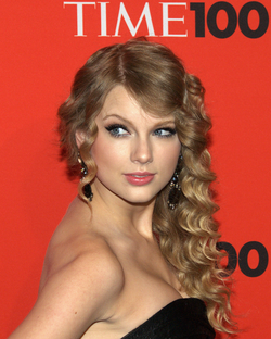 Swift at the 2010 Time 100 Gala, where she was honored
