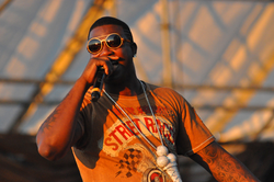 Gucci Mane performing on August 29, 2010.