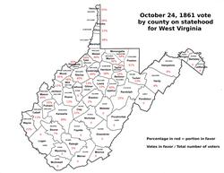 Statehood vote of October 24, 1861