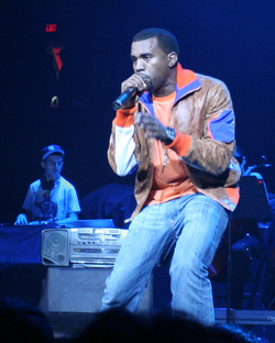 West performing in Portland in December 2005.