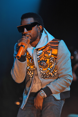 West performing in 2008.
