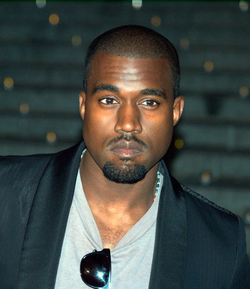 Kanye West at the 2009 Tribeca Film Festival.