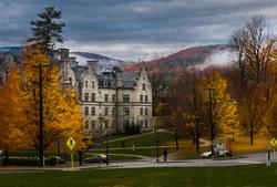 The college's Morgan Hall