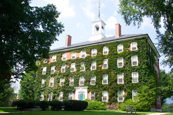 West College- the oldest building of Williams' Campus.