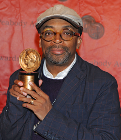 Lee with his Peabody Award, 2011