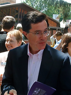 Colbert at Knox College