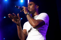 Trey Songz performing at Summer Jam on June 5, 2010.