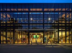 The Steve Jobs Building at Pixar's campus in Emeryville.