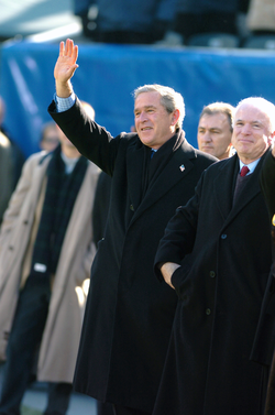 President  George W. Bush  with Senator McCain, 4 December 2004